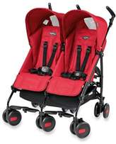 Peg Perego Pliko Mini Twin Stroller in Mod Red
