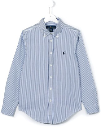 Ralph Lauren Kids striped button down shirt