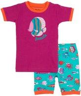 "Hatley Short PJSet (Toddler/Kid) - Fun Fish ""Fintastic""-8"