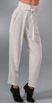 Organic By John Patrick High Waisted Pants with Tie