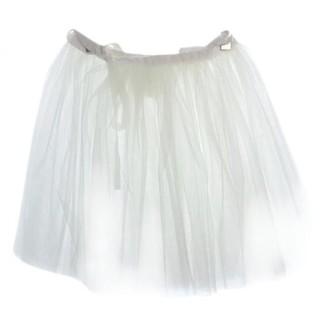 Comme des Garcons White Cloth Skirts