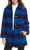 Pendleton Women's Paul Bunyan Plaid Wool Blend Barn Coat