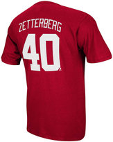 Reebok Men's Short-Sleeve Henrik Zetterberg Detroit Red Wings Player T-Shirt