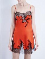Marjolaine Baccarat silk-satin nightdress
