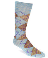 Daniel Cremieux Pigmento Argyle Crew Dress Socks