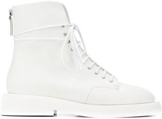 Marsèll Back Zip Fastening Boots