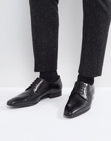 Paul Smith Roth Derby Lace Up Shoes In Black