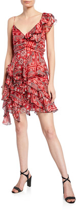 Isabel Marant Enta Summer Night Print Dress