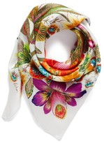 Echo Women's Flora Silk Square Scarf