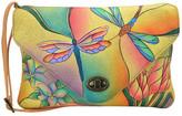 Anuschka Hand Painted Envelope Clutch