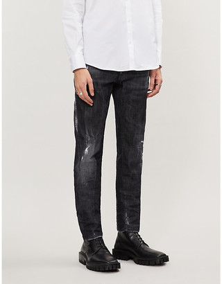 DSQUARED2 Ripped slim jeans