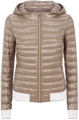 Herno Stripe Trim Hooded Jacket