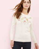 SHANI Opulent Orient embroidered sweater
