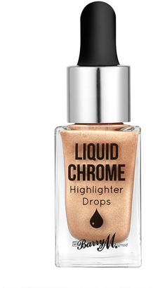 Barry M Liquid Chrome Highlighter Drops 12Ml Liquid Fortune