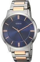 GUESS Men's Stainless Steel Casual Bracelet Watch