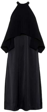 Edit Caped maxi dress