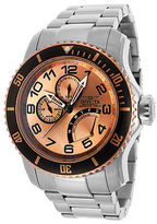 Invicta 15338 Men's Pro Diver Stainless Steel Rose-Tone Dial Stainless Steel