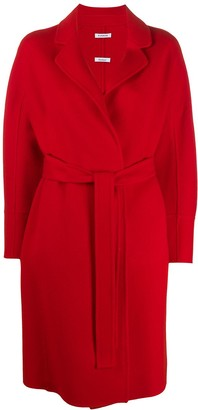 P.A.R.O.S.H. Belted Mid-Lenght Coat