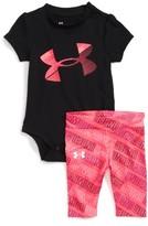 Under Armour Infant Girl's Logo Bodysuit & Leggings Set