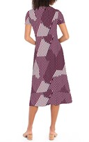 Thumbnail for your product : Maggy London Short Sleeve Rouched Dress