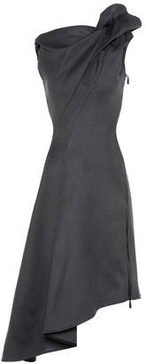 Maticevski Paramour Asymmetric midi dress