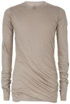 Rick Owens Glitter Longline T-shirt