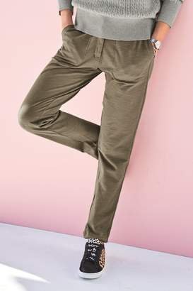 Next Womens Khaki Cargo Trousers - Green