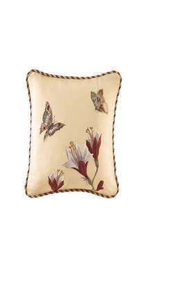 Laurèl Springs Embroidered Accent Pillow