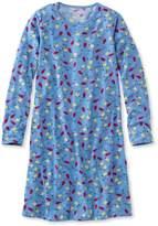 L.L. Bean L.L.Bean Girls' Jersey-Knit Nightgown