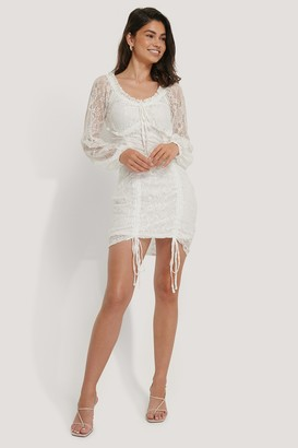 Hoss X NA-KD Detailed Lace Dress