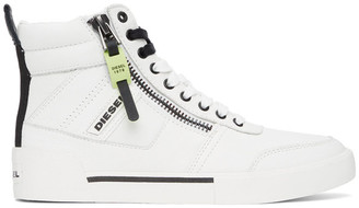 Diesel White S-Dvelows Sneakers