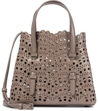 Alaia Mina 20 Mini leather tote
