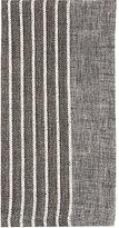 Bodrum Linen-Blend Tuxedo Napkin-DARK GREY