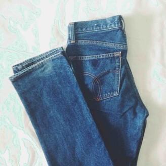 Fiorucci Blue Denim - Jeans Jeans for Women Vintage