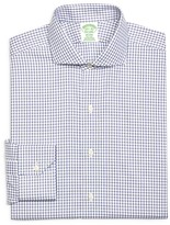 Brooks Brothers Check Non-Iron Regular Fit Dress Shirt