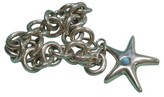 Tiffany & Co. Starfish Turquoise Sterling Silver Bracelet