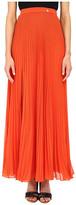 Versace Pleated Maxi Skirt