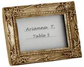 "Kate Aspen 12ct Work of Art"" Antique-Finish Place Card Holder/Photo Frame"