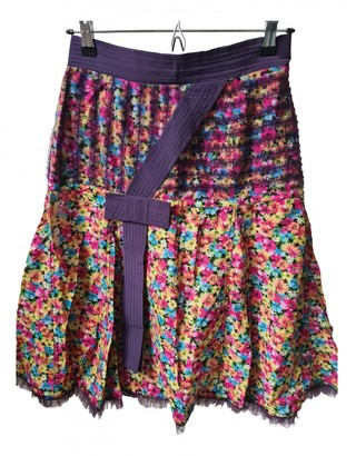 Luella Multicolour Cotton Skirt for Women