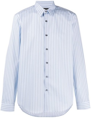 Theory striped print Irving shirt