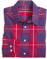 Brooks Brothers Non-Iron Tartan Sport Shirt