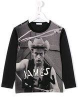 Dolce & Gabbana James Dean print T-shirt - kids - Cotton - 8 yrs