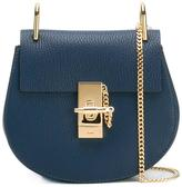 Chloé Mini Drew shoulder bag - women - Lamb Skin/Calf Suede - One Size