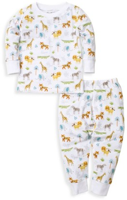Kissy Kissy Baby's Jungle Junket 2-Piece Pajama Set
