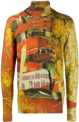 Etro Collage pattern jumper