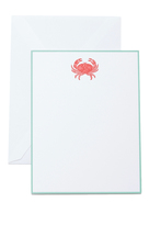 The Printery Red Crab Boxed Note Cards