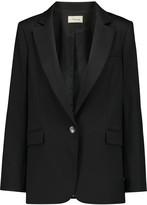 Temperley London Tuva woven wool-blend blazer