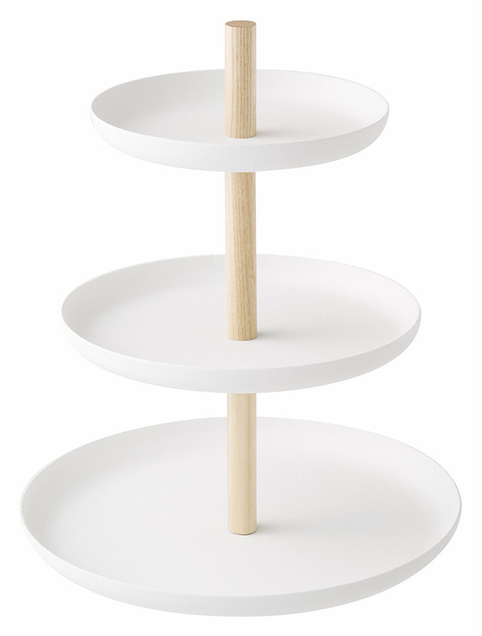 Thumbnail for your product : Yamazaki Tosca 3 Tier Dessert Stand - White