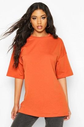boohoo Basic Washed Oversized T-Shirt