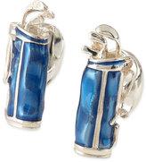 Deakin & Francis Sterling Silver Golf-Bag Cuff Links